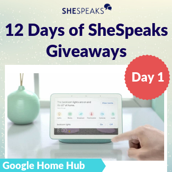 12 Days of SheSpeaks, Day 1:…